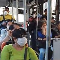 Uso obligatorio de mascarilla en el transporte público se suma a medidas para enfrentar coronavirus