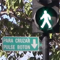 Tiempo de verde peatonal aumenta en 342 cruces de Santiago