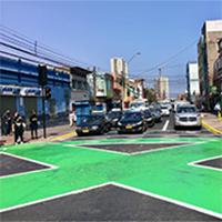 46 nuevos cruces «Tokio» buscan evitar aglomeraciones en cruces