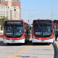 Inaugurado corredor de buses de Av. Independencia