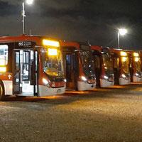 Transporte Público modifica término de servicios diarios por nuevo horario de Toque de Queda