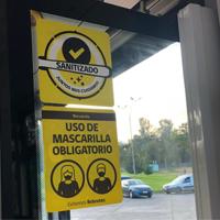 Con mensajes audibles en buses se reforzará campaña para prevenir contagios por Covid-19